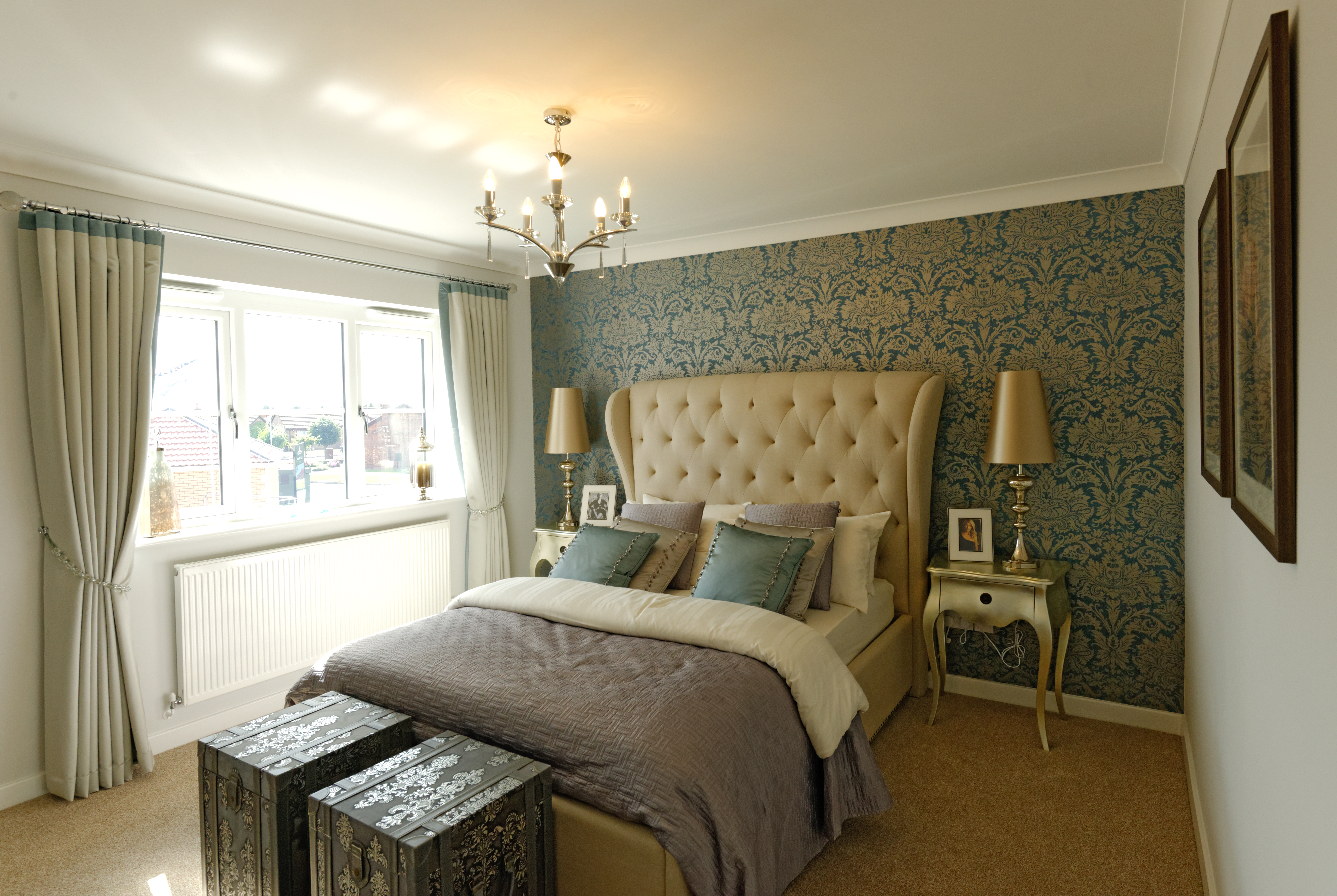 Master Bedroom. Minster Fields  Lincoln   Taylor Lindsey Homes   Residential