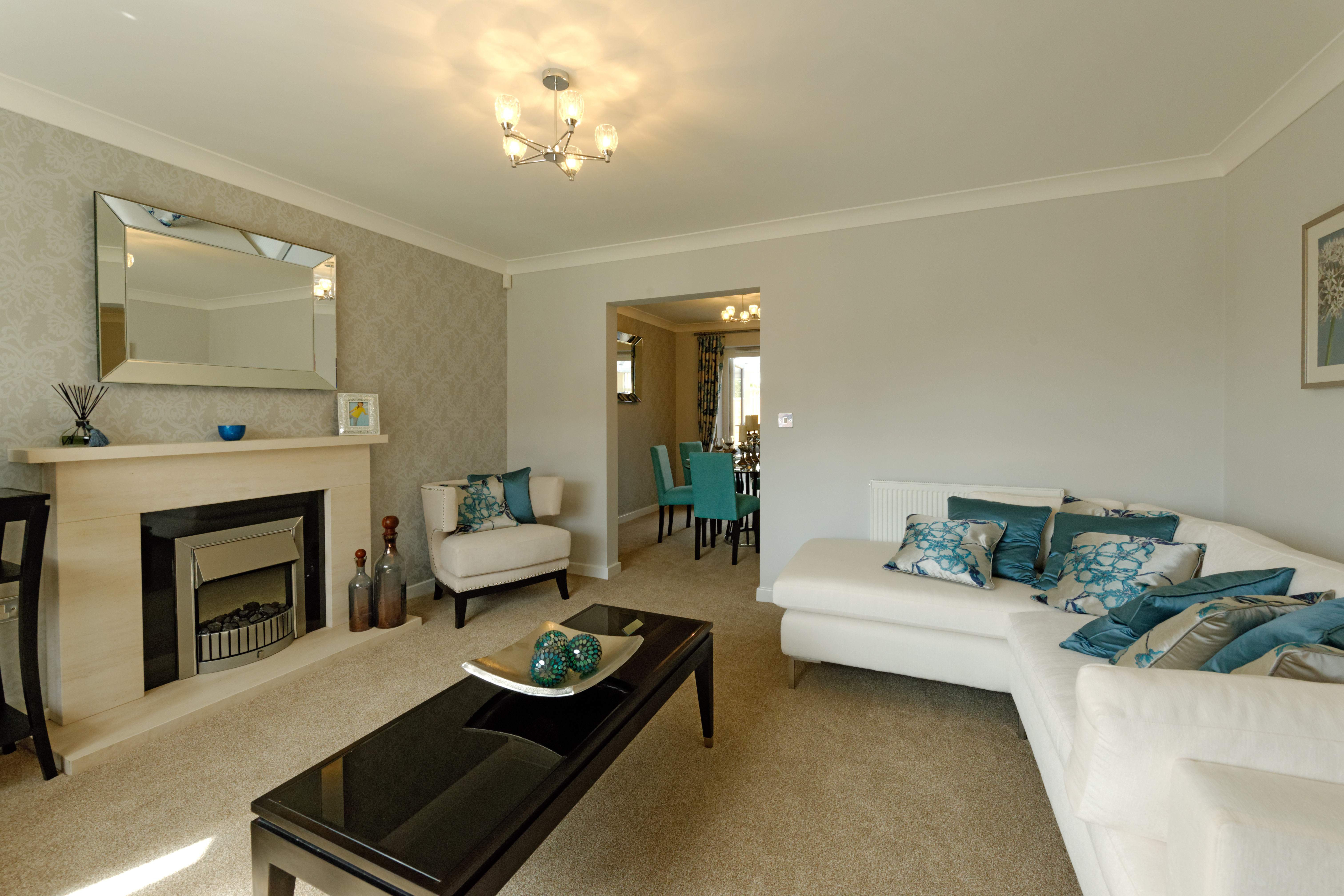 Show Home Bedroom Minster Fields Lincoln Taylor Lindsey Homes Residential